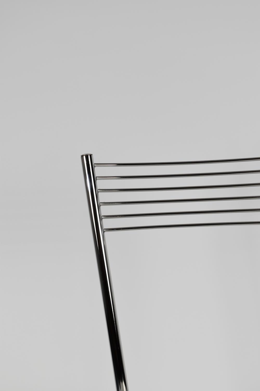 Tommychairs-Sedia-cucina-Elegance-in-acciaio-cromato-e-seduta-in-legno miniatuur 7