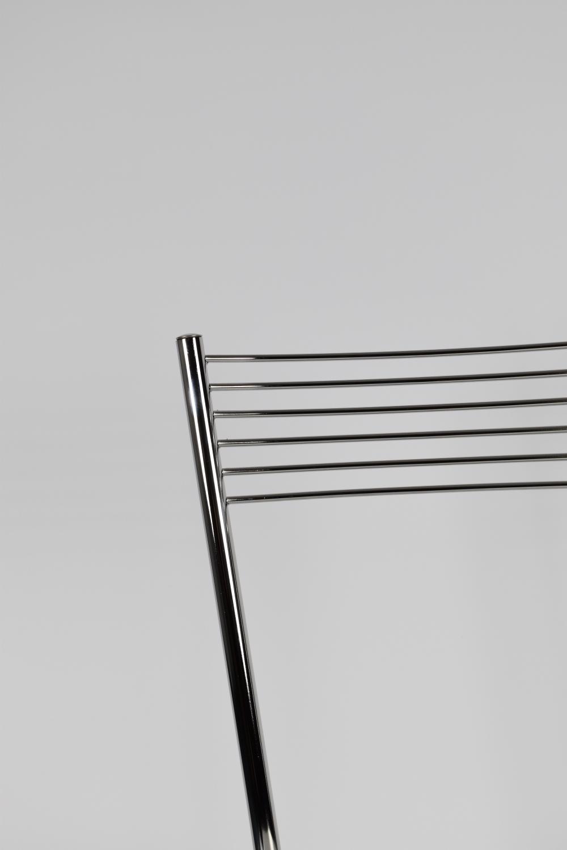Tommychairs-Sedia-cucina-Elegance-in-acciaio-cromato-e-seduta-in-legno miniatuur 14