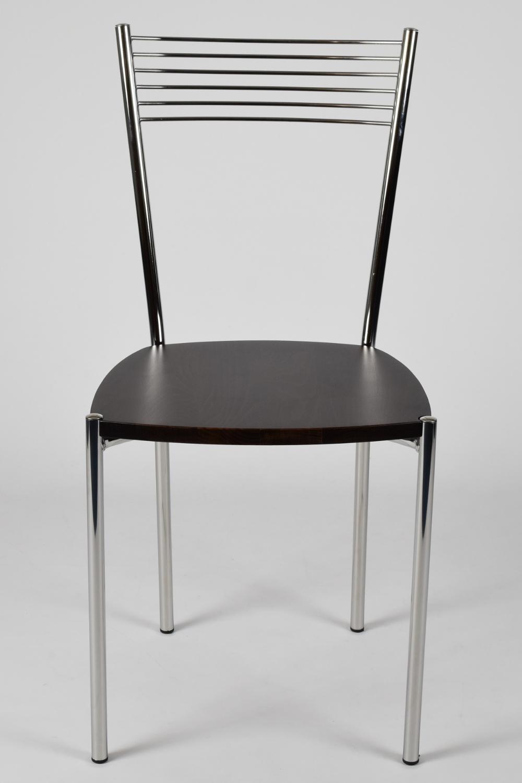 Tommychairs-Sedia-cucina-Elegance-in-acciaio-cromato-e-seduta-in-legno miniatuur 18