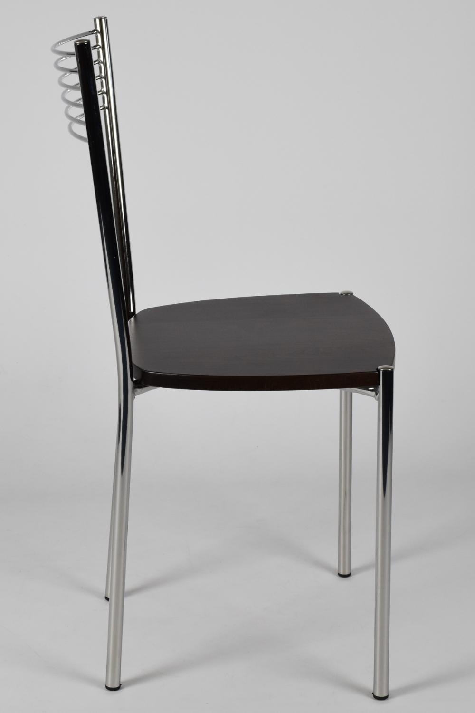 Tommychairs-Sedia-cucina-Elegance-in-acciaio-cromato-e-seduta-in-legno miniatuur 19