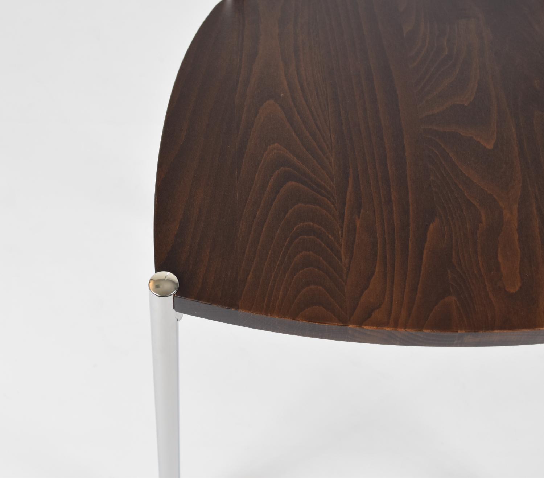Tommychairs-Sedia-cucina-Elegance-in-acciaio-cromato-e-seduta-in-legno miniatuur 22